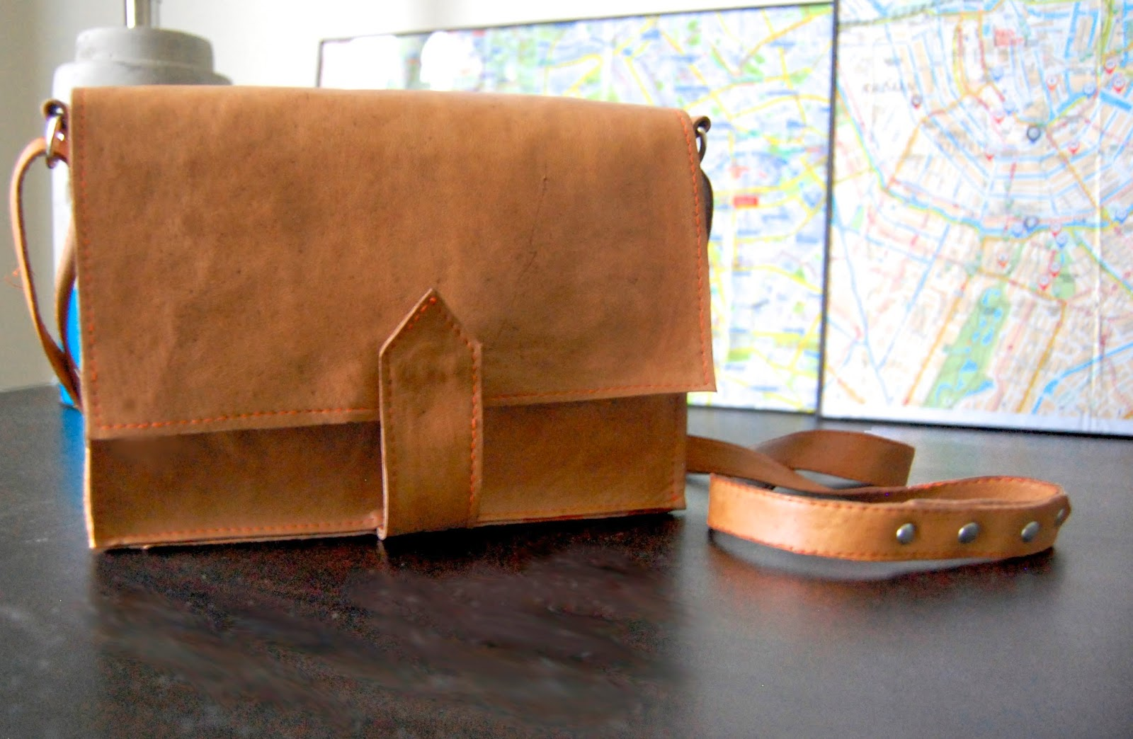 Handmade Leather Crossbody