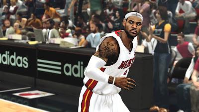 NBA 2K13 Graphics Mod HD
