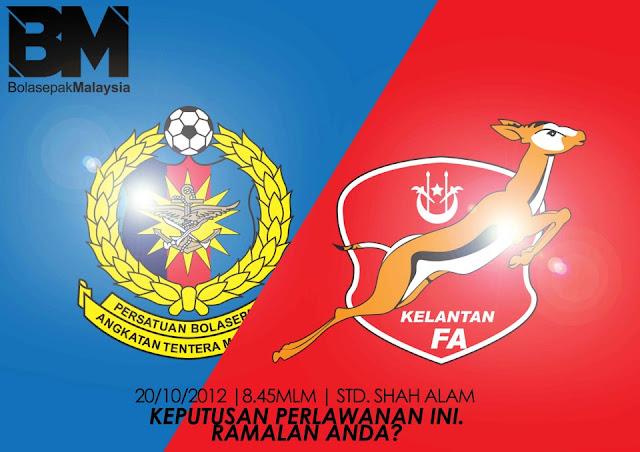 Live Streaming Kelantan vs ATM Final Piala Malaysia 20 Oktober 2012