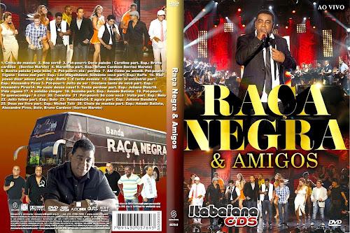 DVD Raça Negra Amigos - Ao Vivo
