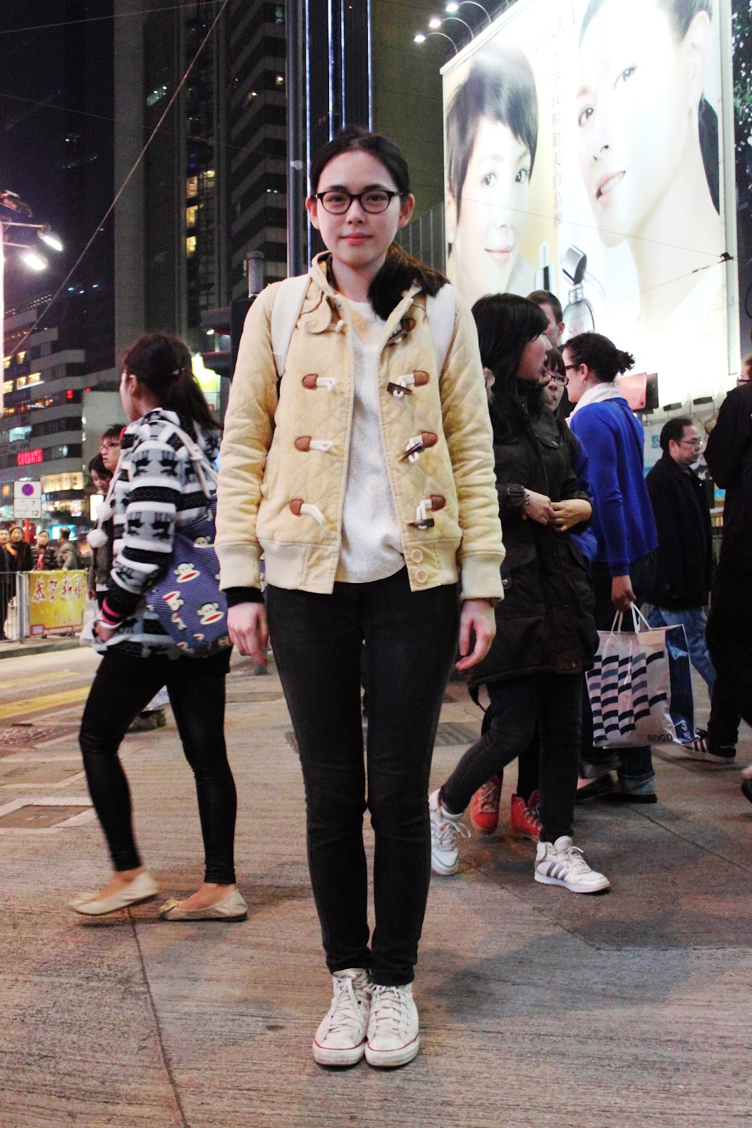 Hong Kong Winter Street Fashion