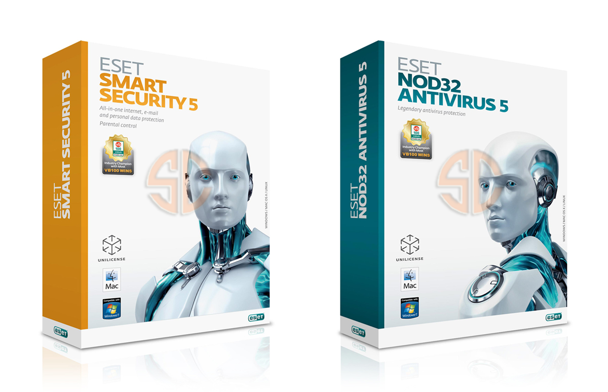 eset nod32 antivirus 5 or eset nod32 smart security 5