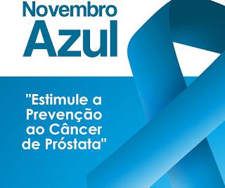 Campanha Novembro Azul alerta para prevenção do câncer de próstata