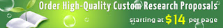 Order custom research proposal on Corporate Social Responsibility