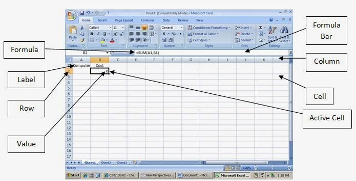 how to put arrow linking cells excel