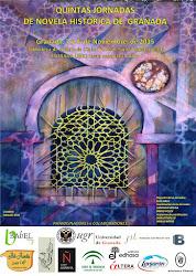 Cartel de las IV Jornadas de Novela Histórica de Granada