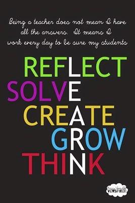 "LEARN Poster from ""Venspired"" Twitter GuestEduCelebrity at TeacherFriends"
