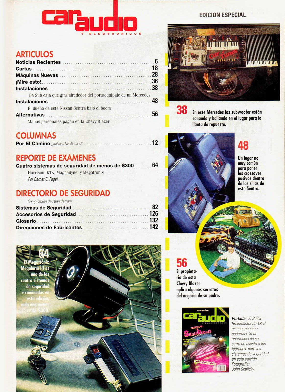 Image of Index of Car Audio & Electronics Magazine Special Edition in Spanish