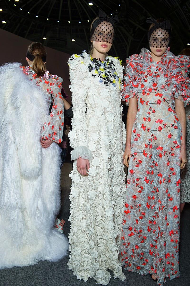 Giambattista Valli Spring/Summer 2015 show - Paris fashion Week