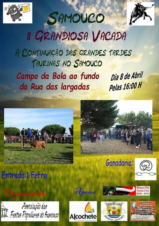 2ª Grandiosa VACADA 2017 - Org. Ass. de Festas do Samouco