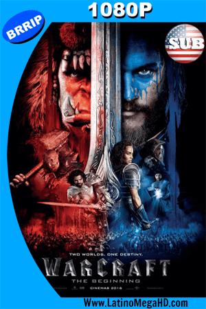 Warcraft: El Primer Encuentro de Dos Mundos (2016) Subtitulado HD 1080P ()