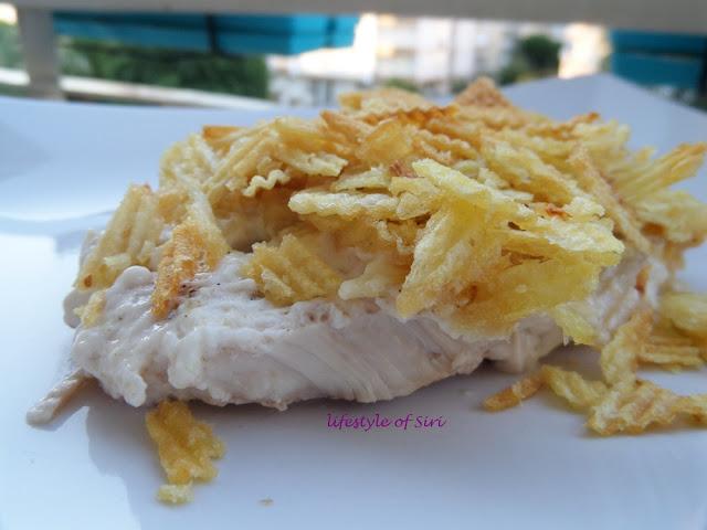 Ruffles'lı Tavuk
