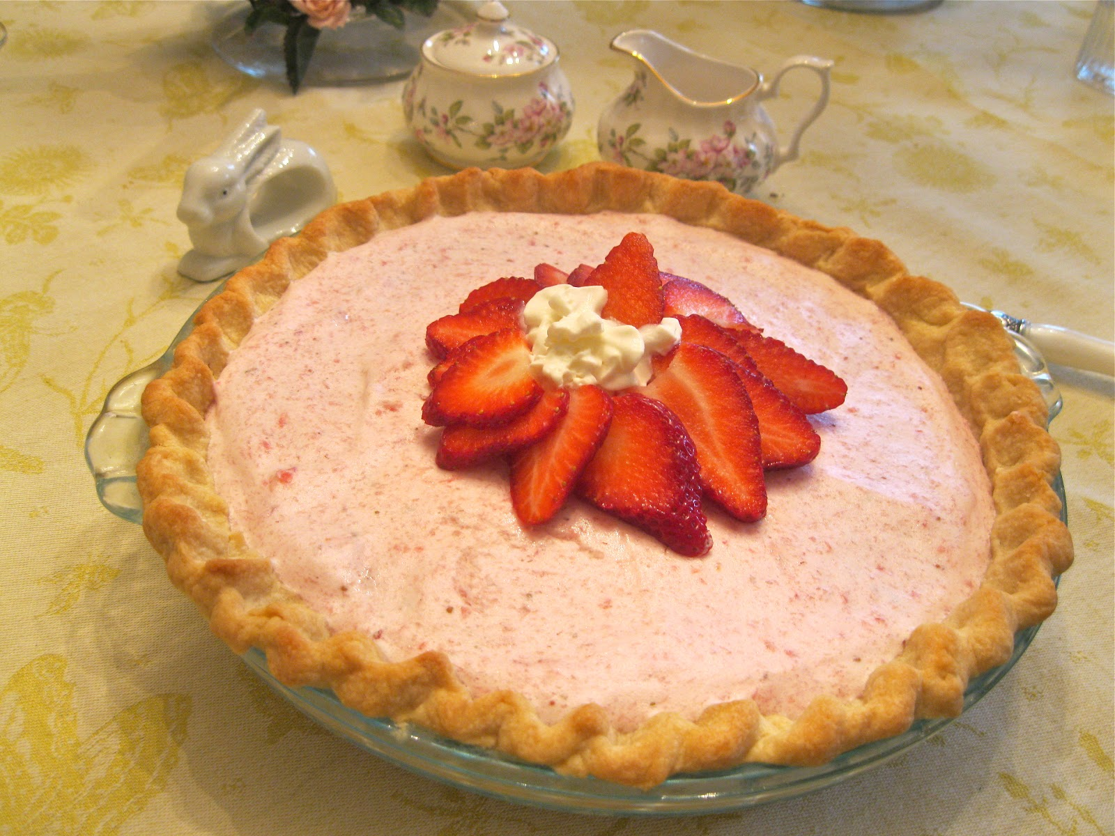 Easy strawberry chiffon pie recipe
