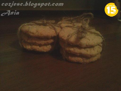 Ciasteczka owsiane z otrębami