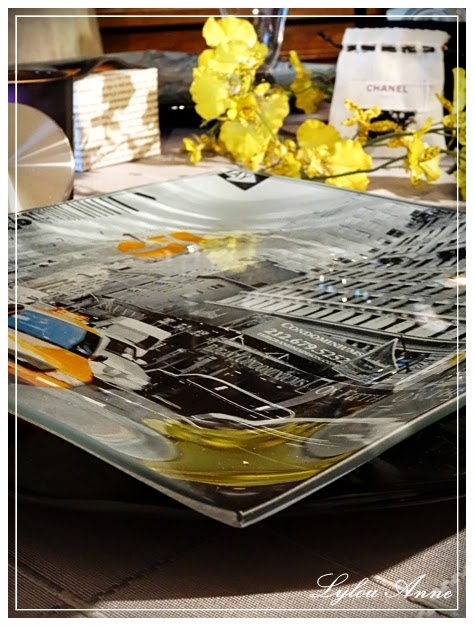 LylouAnne Collection Ma Table Dpart Pour New York