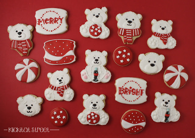 Coca-Cola Polar Bear Christmas Cookies