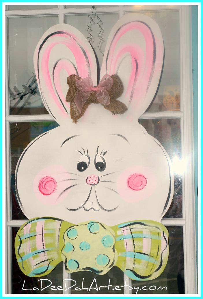 Easter Door Hangers & La Dee Dah Art: Easter Door Hangers