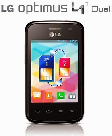 LG Optimus L1 II Dual E420 Android Murah