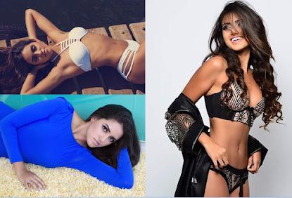 A modelo brasiliense Ana Gabriela Borges fala do seu primeiro concurso a nível nacional