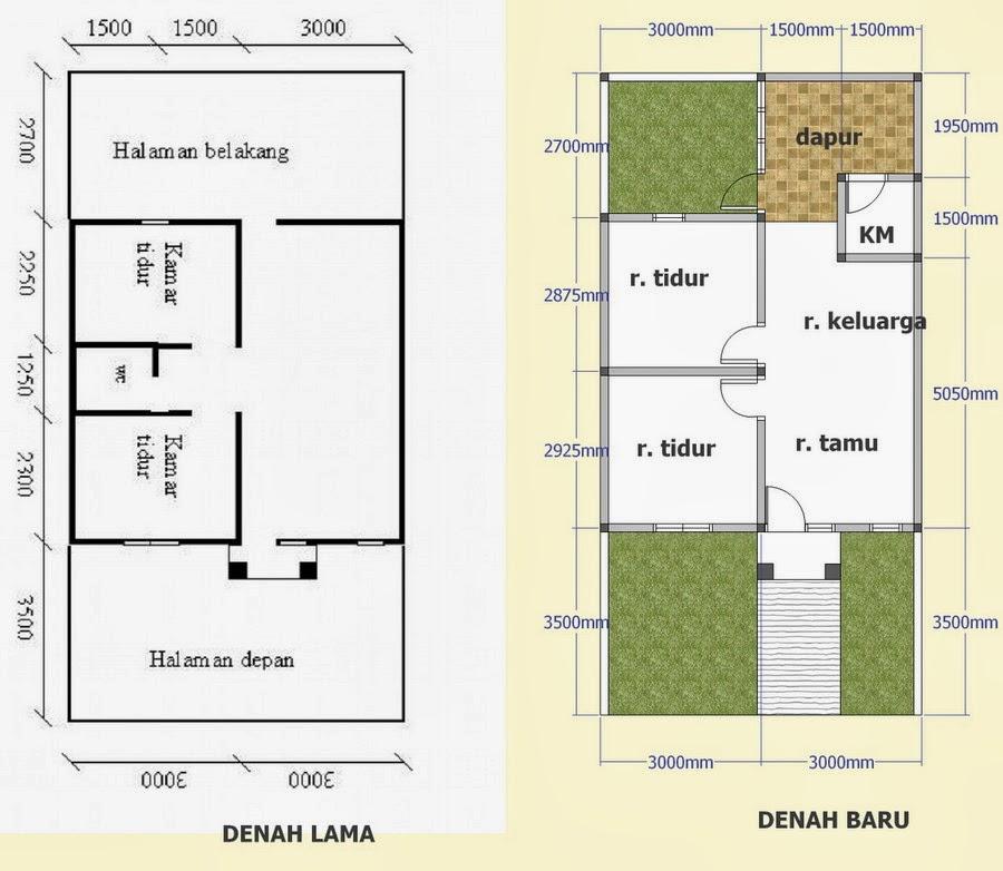 model desain rumah minimalis type 36 1 dan 2 lantai