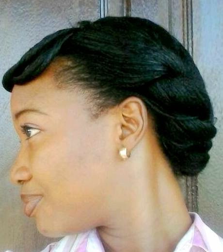 protecttive styles for relaxed hair