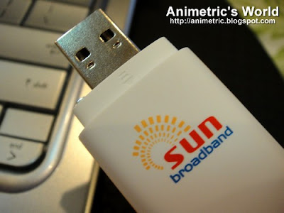 Sun Broadband Wireless dongle