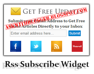 Stylish Rss Subscribe Widget For Blogger