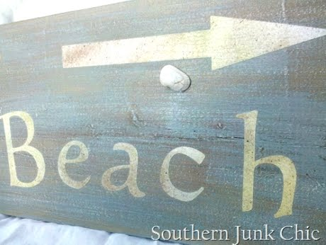 old wood board sign