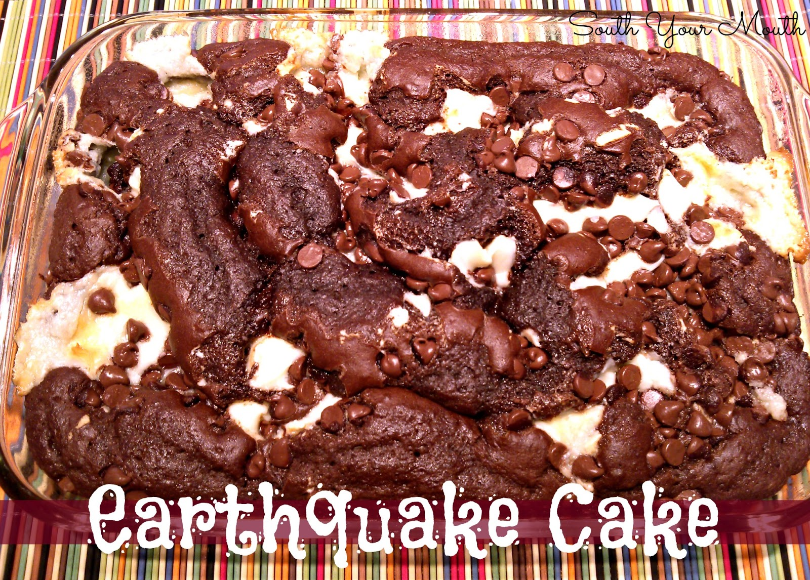 Earthquake Cake Recipe