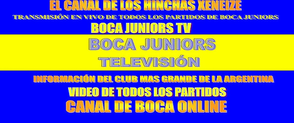 BOCA JUNIORS TV