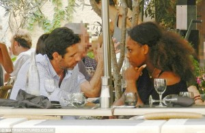 Serena dating her coach