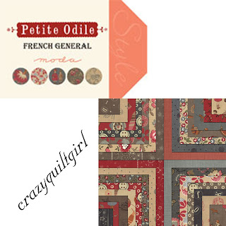 Moda PETITE ODILE Quilt Fabric by French General