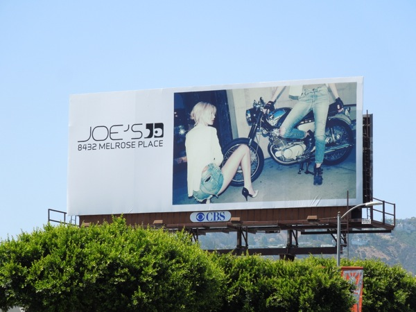 Joes Jeans Summer 2013 billboard