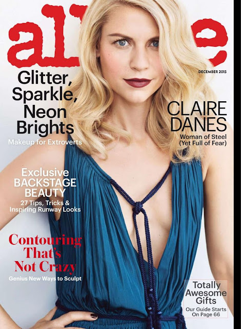 Actress, @ Claire Danes - Allure USA, December 2015