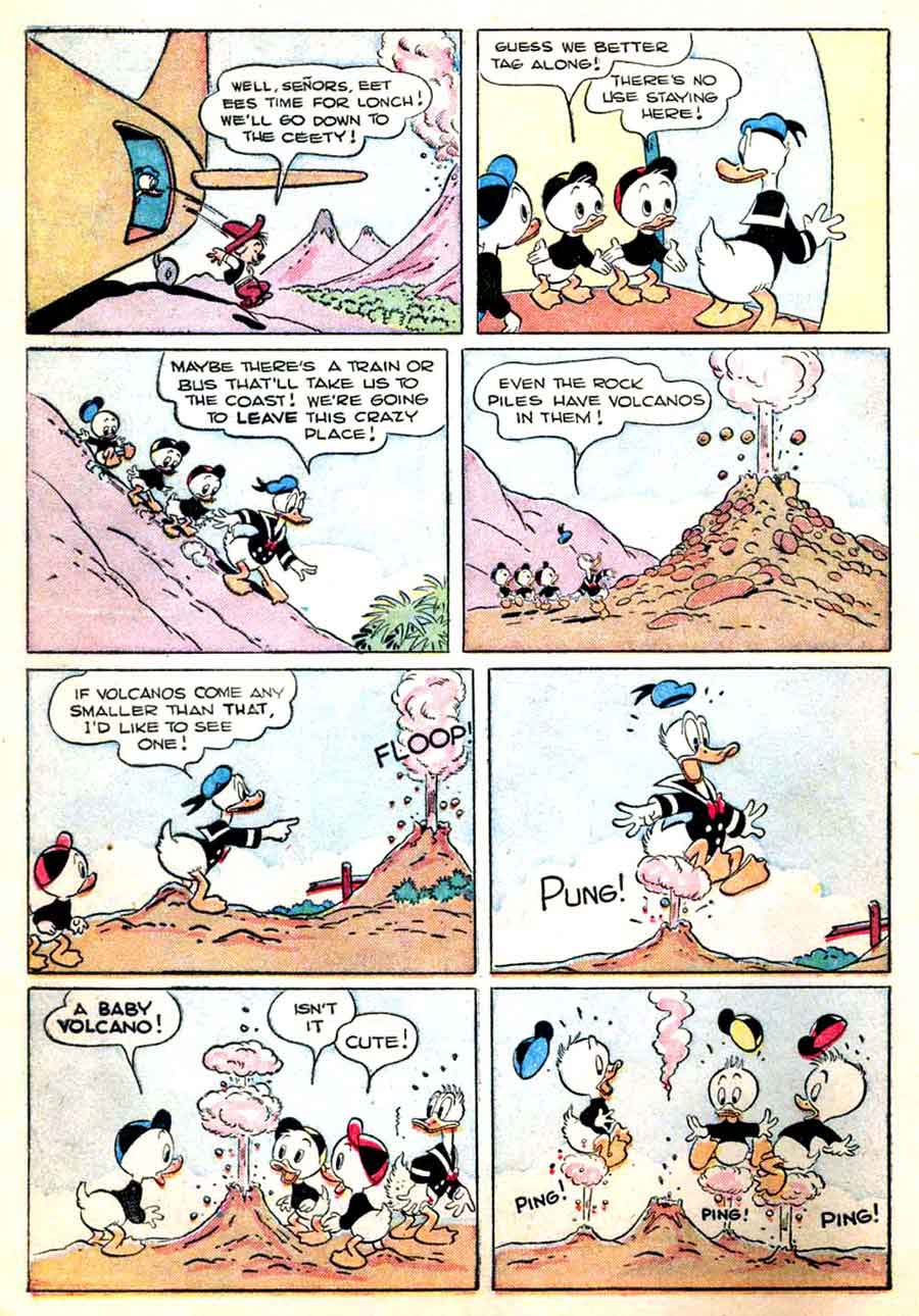 donald duck four color comics v2 147 carl barks art pencil ink. Black Bedroom Furniture Sets. Home Design Ideas