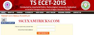 TS ECET Result 2015