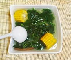 Cara membuat sayur bening bayam jagung terlengkap
