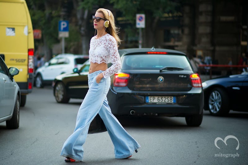 mitograph Natalie Joos After Jil Sander Milan Fashion Week 2014 Spring Summer MFW Street Style Shimpei Mito