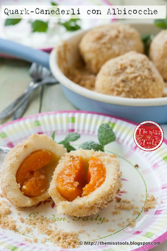 canederli dolci con albicocche - sweet apricot dumplings