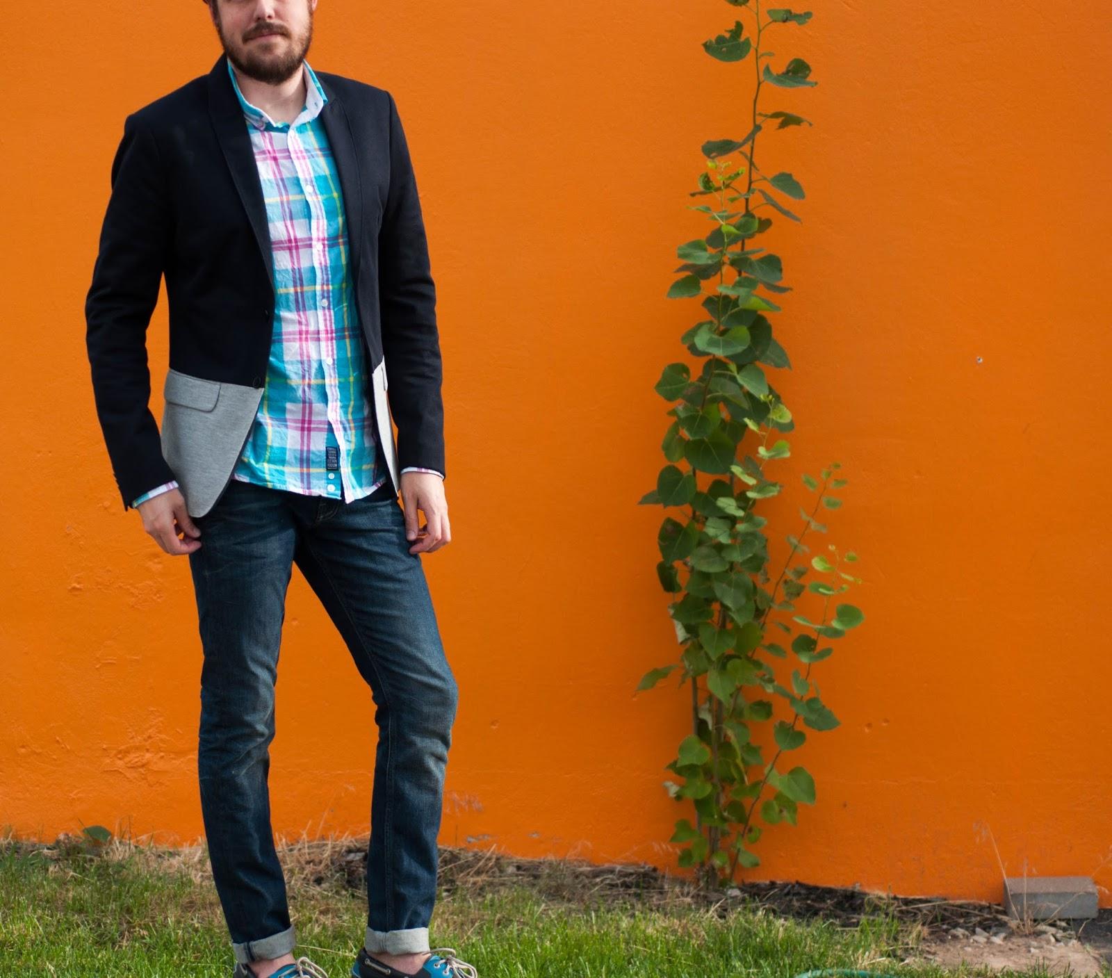 mens fashion, mens style, ootd, mens ootd, zara man, zara blazer, all saints cigarette jeans