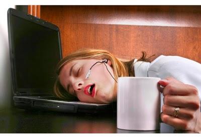 tertidur waktu bekerja