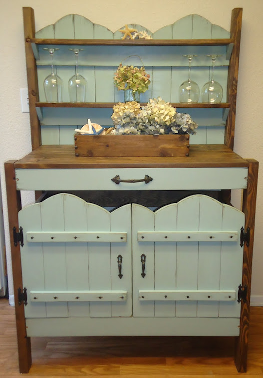 Charming Vintage Style Table/Cabinet - SOLD