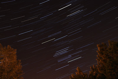 star trails with canon rebel xt