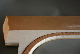 Modul im Rohbau - Kostensenkung durch Tischlerplatte, Styropor und selbstgeschnittener Kork