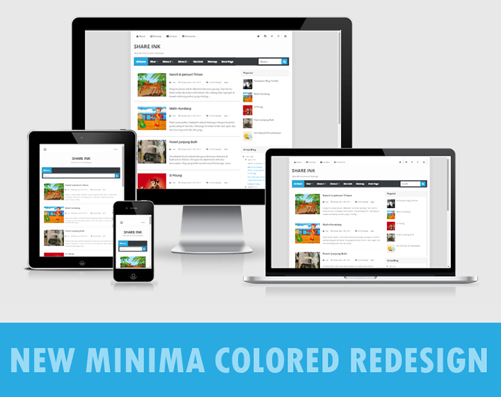 New Minima Colored Redesign