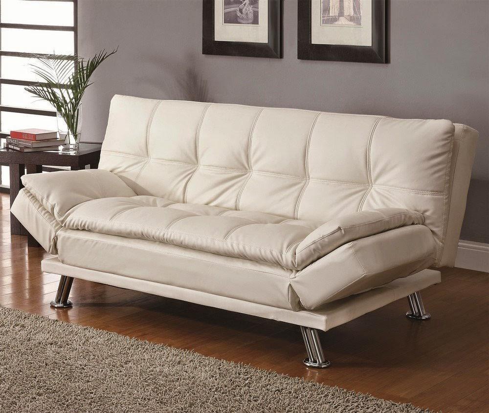 fabric klik klak sofa futon bed sleeper apartment sofa bed