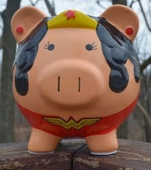 My Wonder Woman Pig