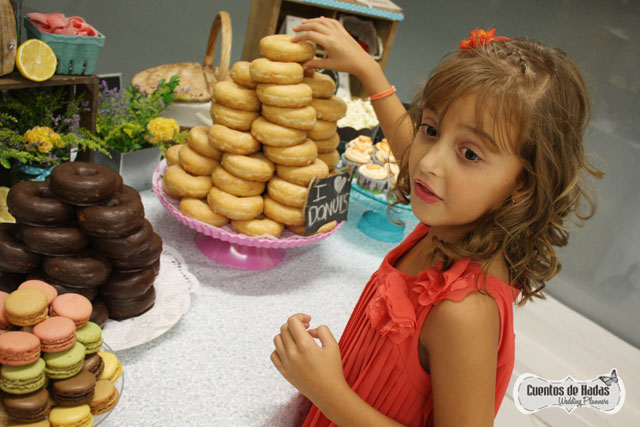 Candybar con donuts en Zaragoza