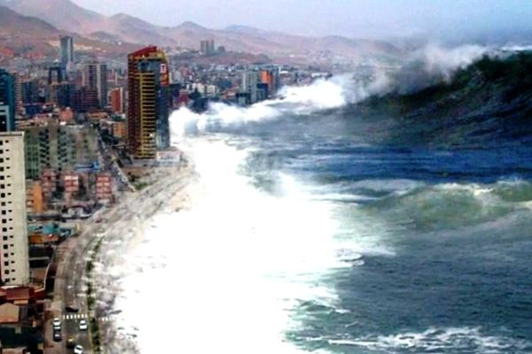 Tsunami. Kotabumi Lampung Utara