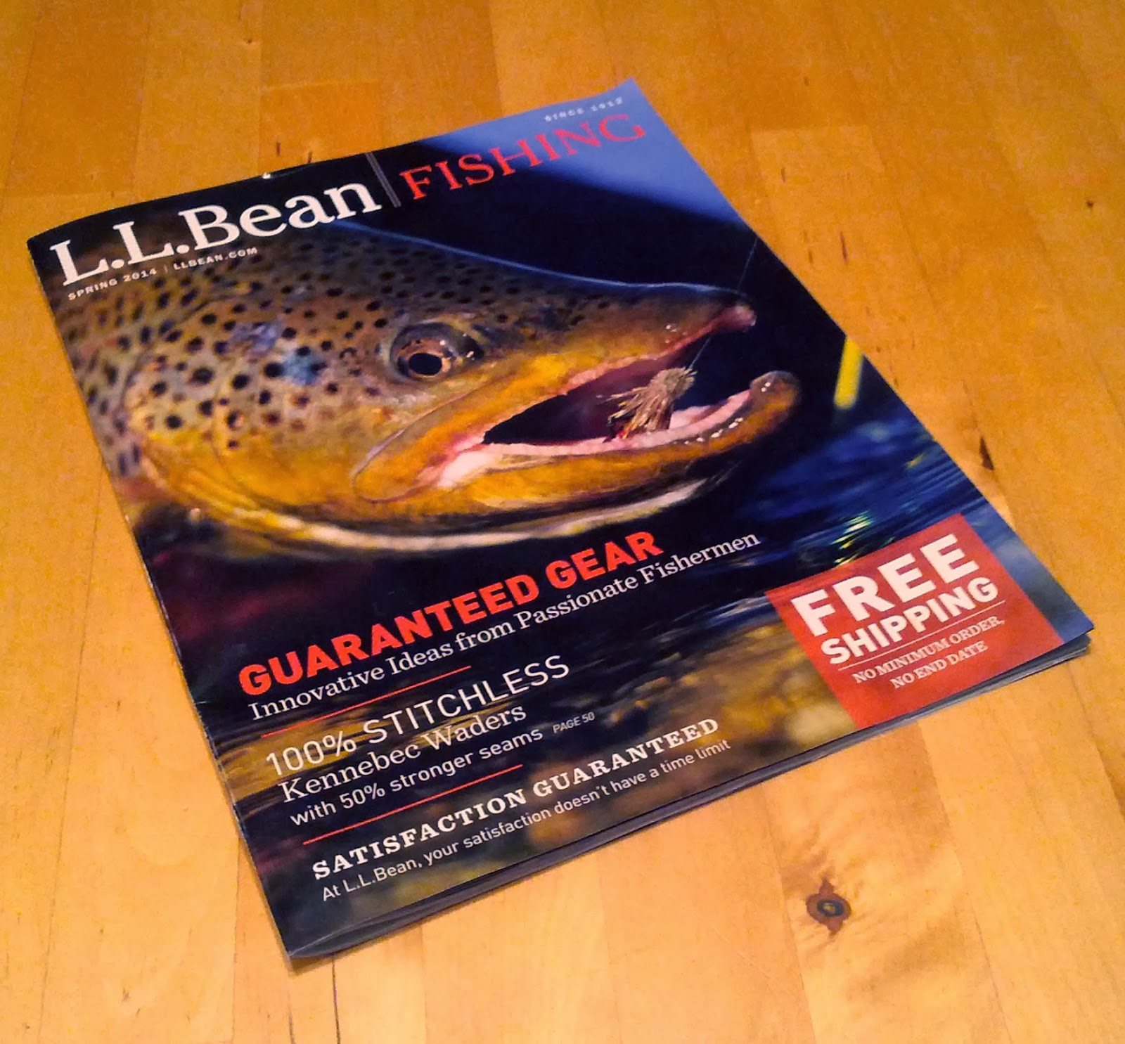 Troutrageous fly fishing tenkara blog obsessed with l l for Ll bean fishing